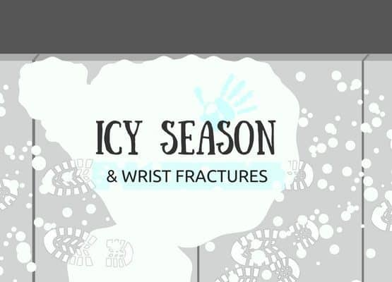 wrist fractures icy season